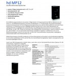 Harmonic Design hd MP12 und hd MP15
