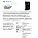 Harmonic Design hd MP12 und hd MP15
