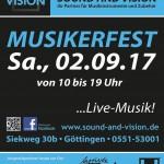 Jubiläumsfest am 02.09.2017 / 25 Jahre Sound and Vision